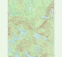 Maine USGS Historical Map Scraggly Lake 306759 1941 62500 by wetdryvac
