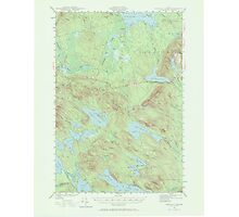 Maine USGS Historical Map Scraggly Lake 306759 1941 62500 Photographic Print