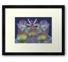 Dance of the butterfly Framed Print