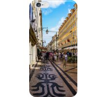 Rua Augusta, Lisbon iPhone Case/Skin