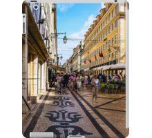 Rua Augusta, Lisbon iPad Case/Skin