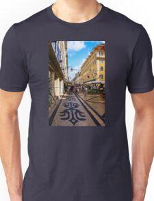 Rua Augusta, Lisbon Unisex T-Shirt