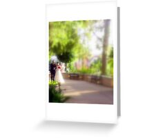I loved her first.... Greeting Card