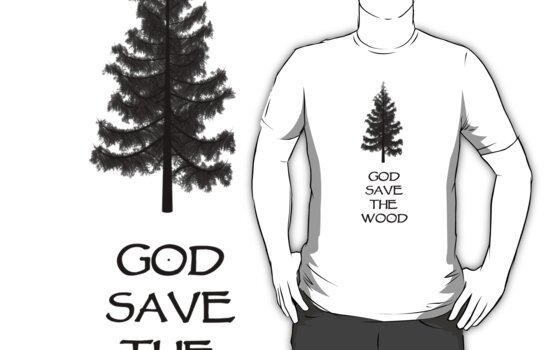 God Sae the Wood by marodesign