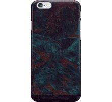 Maine USGS Historical Map Scraggly Lake 306761 1941 62500 Inversion iPhone Case/Skin