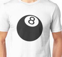 Ball number 8 Unisex T-Shirt