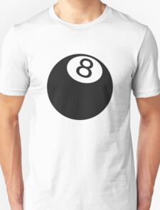 Ball number 8 T-Shirt