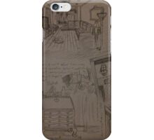 Sketches of Mundane Objects iPhone Case/Skin