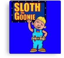 Sloth the Goonie Canvas Print