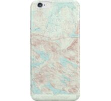 Maine USGS Historical Map Scraggly Lake 306761 1941 62500 iPhone Case/Skin