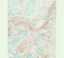 Maine USGS Historical Map Scraggly Lake 306761 1941 62500 by wetdryvac