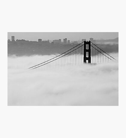 Rising Above the Fog Photographic Print