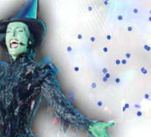 Wicked The Musical Sticker