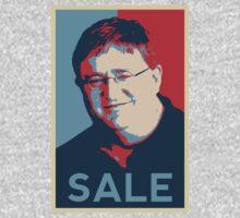 "Gaben Propaganda ""SALE"" by MrFinlayW"