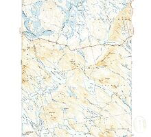 Maine USGS Historical Map Scraggly Lake 460841 1941 62500 by wetdryvac
