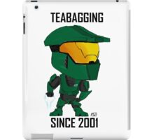 TEABAGGING SINCE 2001 iPad Case/Skin