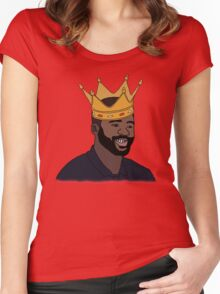King Kolo Toure Women's Fitted Scoop T-Shirt
