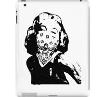 Gansta Marilyn Monroe iPad Case/Skin