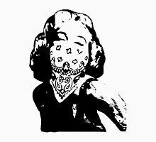 Gansta Marilyn Monroe Unisex T-Shirt