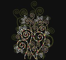 Ethnic Spiral Dreams Womens Fitted T-Shirt