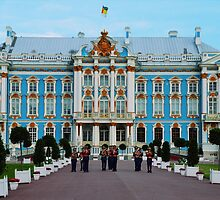 Welcome to Catherine Palace, Russia by Catherine Sherman