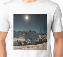 Mountain Snowscene Unisex T-Shirt