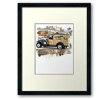 classic woodie Framed Print