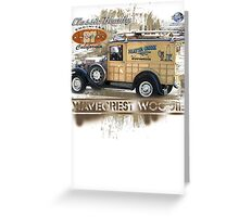 classic woodie Greeting Card