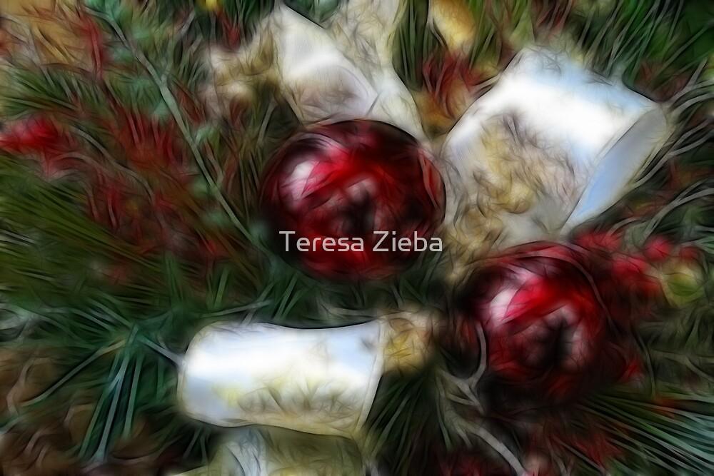 Xmas Ornaments by Teresa Zieba