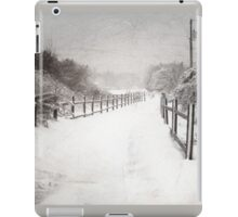 Silence of Snow  iPad Case/Skin