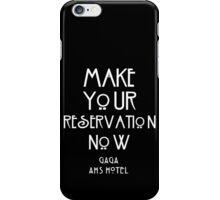 AHS HOTEL gaga iPhone Case/Skin