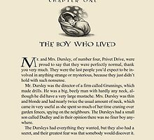 The Boy Who Lived by morganlianne