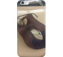 Masked Glasses or Mask with Glasses? iPhone Case/Skin