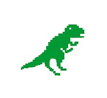 The Pixelated Dinosaur by PIXELATED DINOSAUR ILLUSTRATIONS