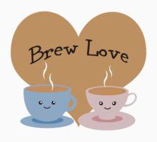 Brew Love! Coffee Couple Baby Tee