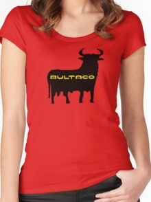 Bultaco Bull Women's Fitted Scoop T-Shirt