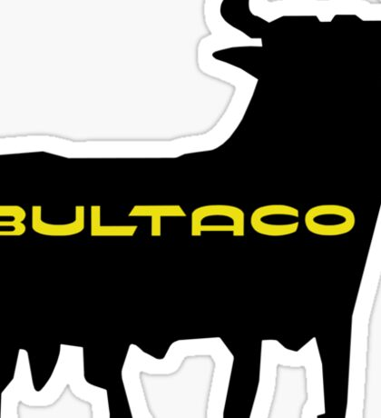Bultaco Bull Sticker