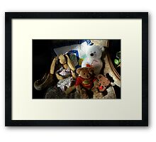toys or memories Framed Print