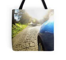 Subaru WRX country road Tote Bag