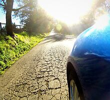 Subaru WRX country road by TanninJackson