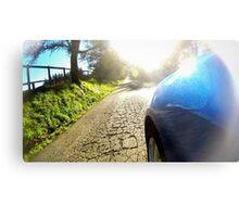 Subaru WRX country road Metal Print