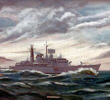D86 HMS Birmingham by Woodie