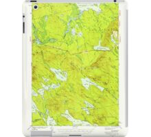 Maine USGS Historical Map Scraggly Lake 460843 1941 62500 iPad Case/Skin