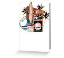 surf motel Greeting Card