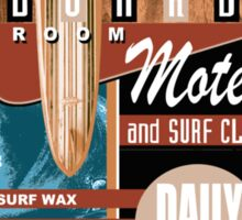 surf motel Sticker