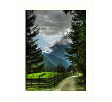 Julian Alps Art Print