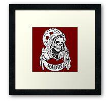 Santa De Muerte II Framed Print