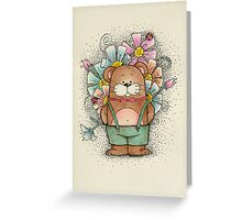 I brought you flowers... Greeting Card