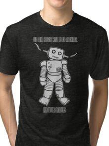 Robot Machines Black Tri-blend T-Shirt