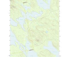 Maine USGS Historical Map Scraggly Lake 20110829 TM by wetdryvac